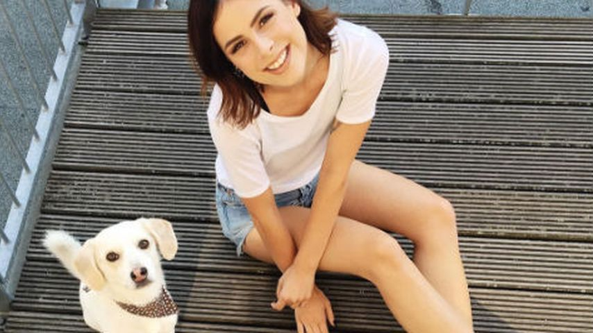 Hundeblick: Lena Meyer-Landrut macht Welpe Konkurrenz
