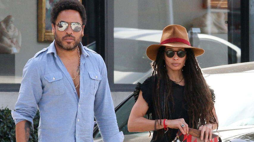 Lenny Kravitz und Lisa Bonet