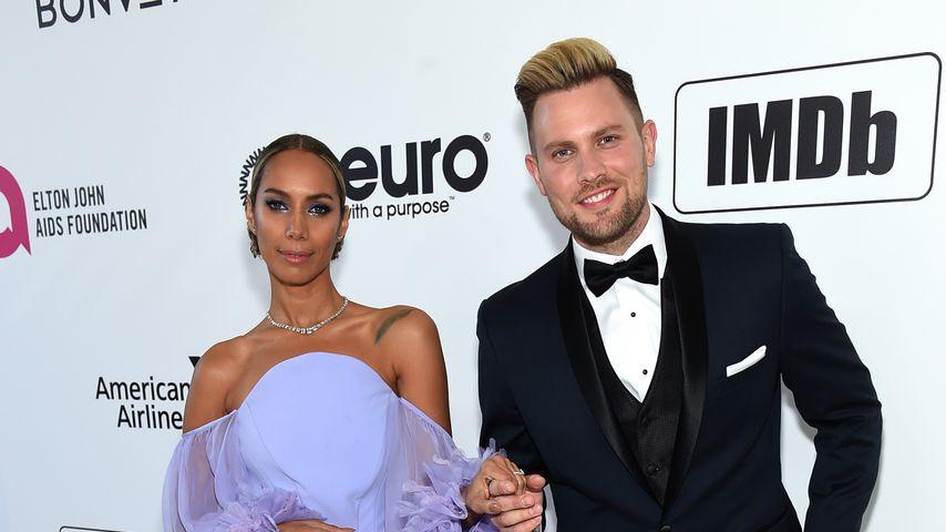 Leona Lewis und Dennis Jauch im Februar 2019