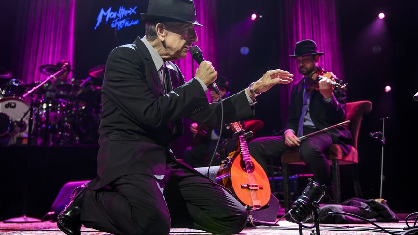 Folk-Rocker Leonard Cohen