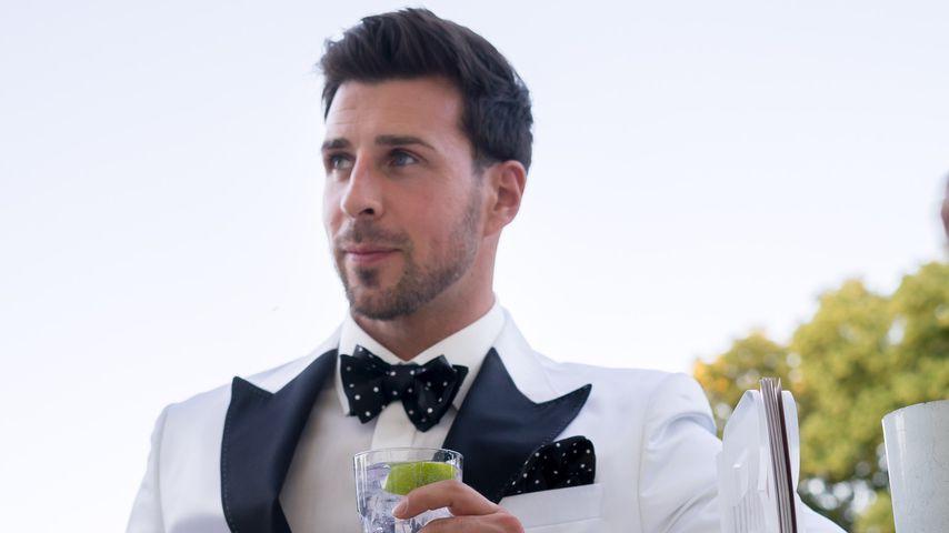 Leonard Freier bei seiner Hochzeitsparty