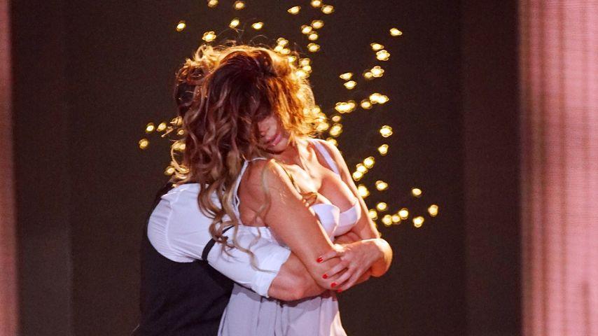 Leonard Freier und Sabia Boulahrouz, TV-Tanzpaar
