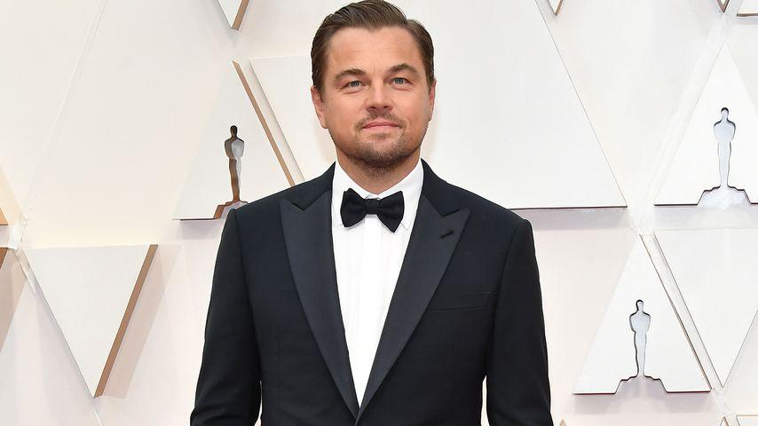 Leonardo DiCaprio auf dem roten Teppich der Oscars 2020 in Hollywood