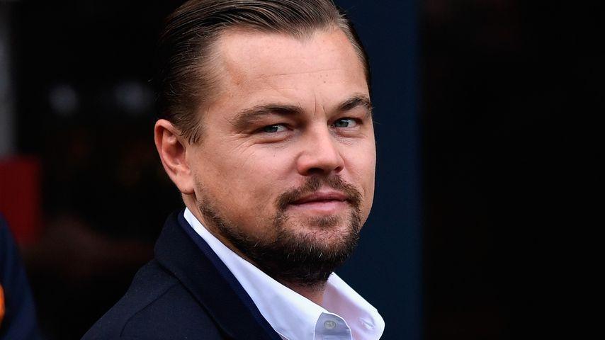 Leonardo DiCaprio in Edinburgh