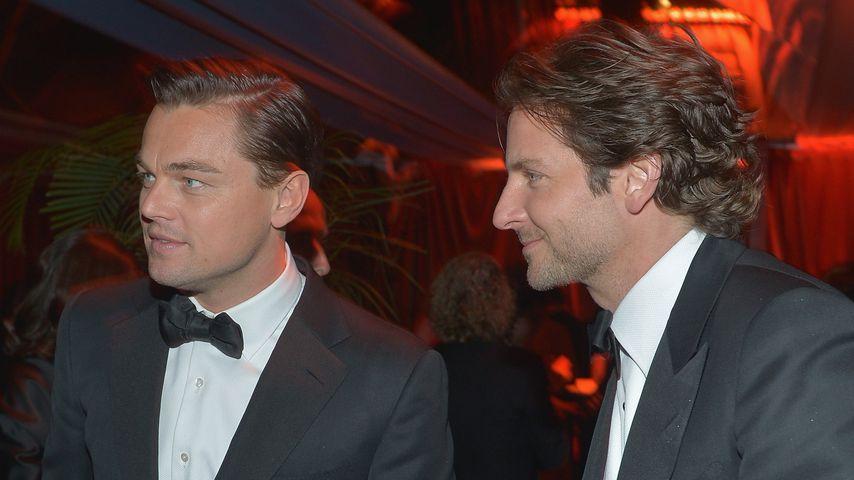 Leonardo DiCaprio und Bradley Cooper
