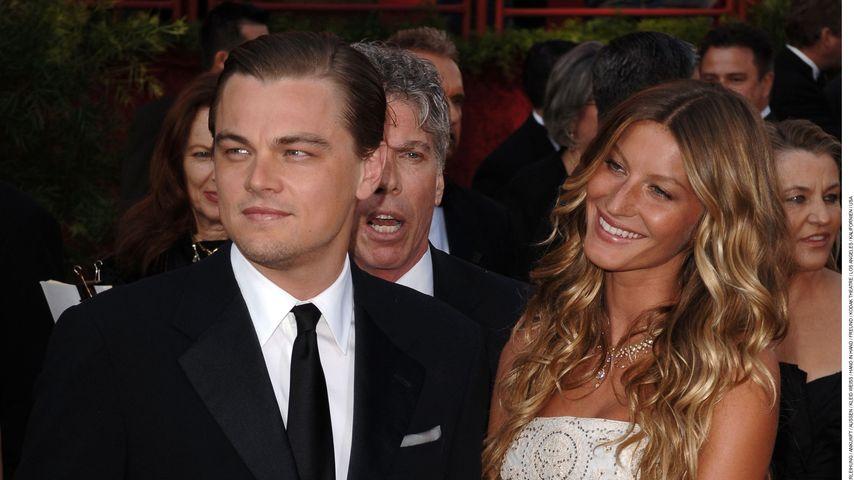 Leonardo DiCaprio und Gisele Bündchen bei der Oscarverleihung 2005