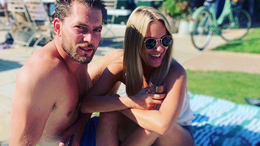 Lewis Burton und Caroline Flack