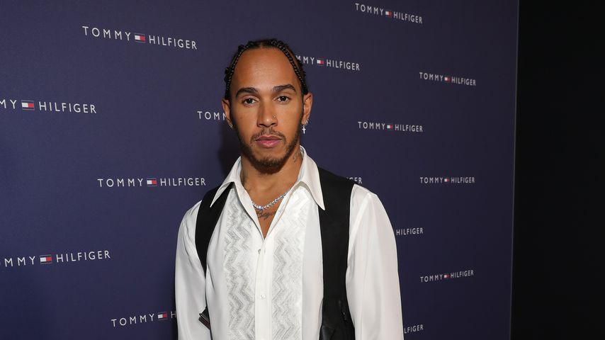 Lewis Hamilton beim Tommy Hilfiger VIP Dinner in Zürich