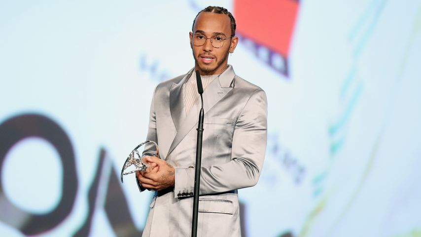 """Lewis Hamilton gewinnt den """"Sportsman of the Year""""-Award in Berlin im Jahr 2020"""