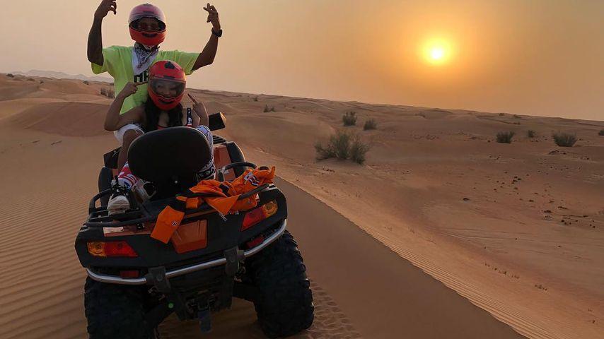 Lewis Hamilton und Nicki Minaj in Dubai