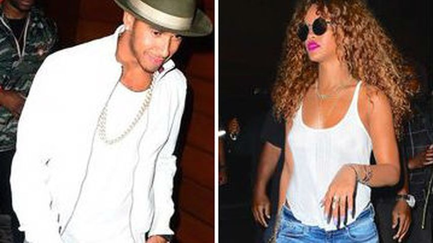 Lewis Hamilton & Rihanna: Wilde Date-Night in New York?