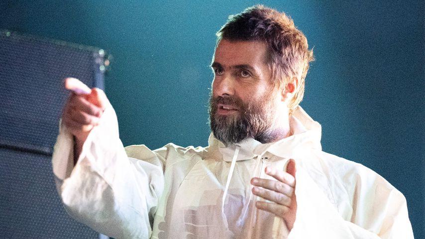 Liam Gallagher bei einem Auftritt in Wien