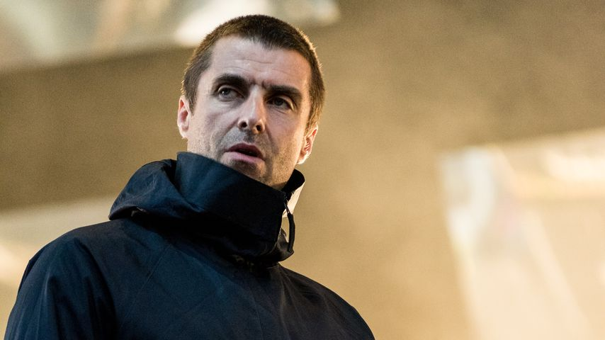 Liam Gallagher mit Rasseln