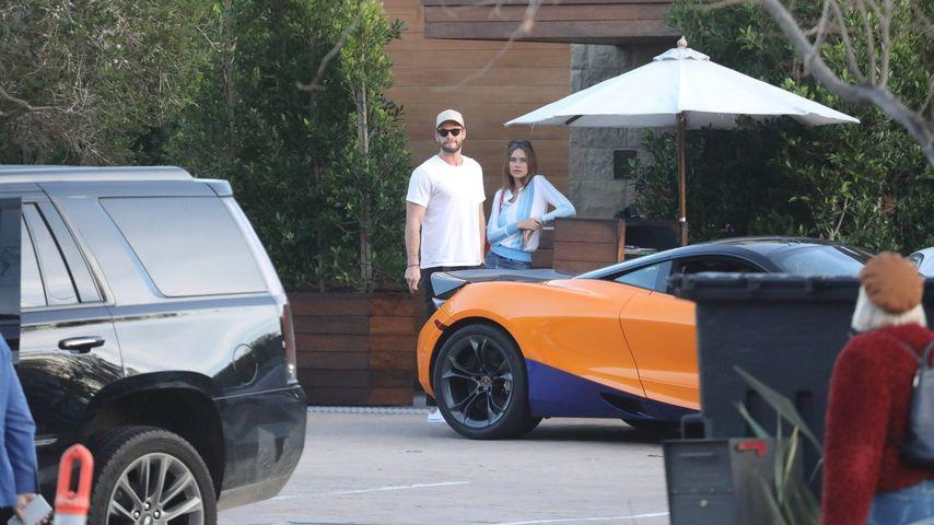 Liam Hemsworth und Gabriella Brooks Januar 2020