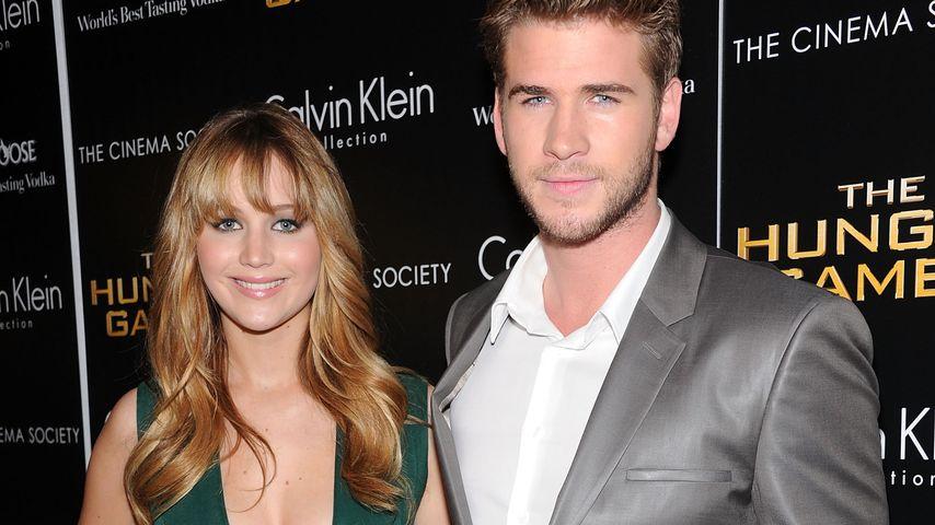 Liam Hemsworth und Jennifer Lawrence
