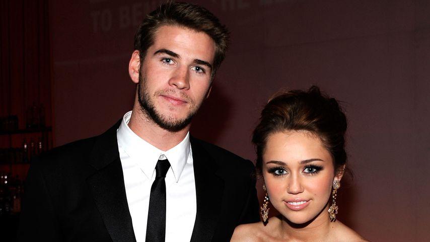 Liam Hemsworth und Miley Cyrus auf einer Party in West Hollywood