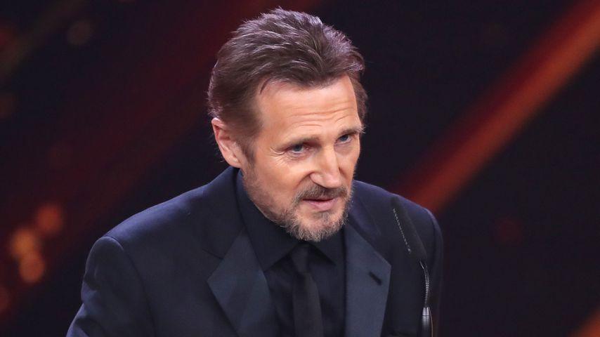 Liam Neeson bei der Goldenen Kamera in Hamburg