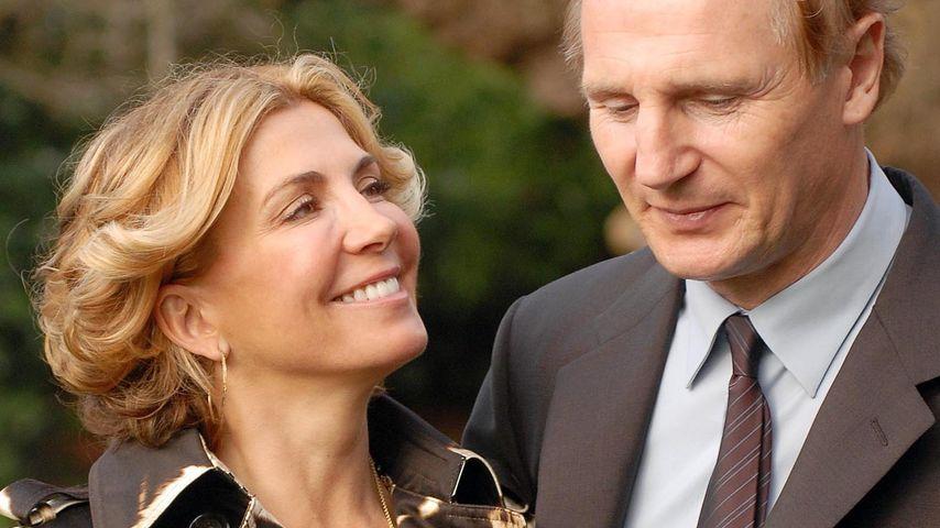9 Jahre nach Tod: Liam Neeson spricht noch mit seiner Frau