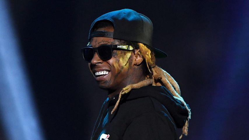 Lil Wayne bei einem Auftritt Ende Januar 2018 in Las Vegas