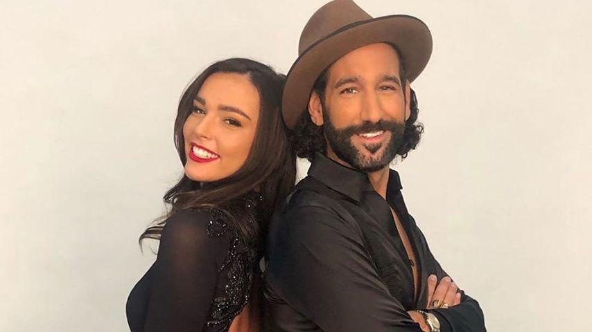 "Lili Paul-Roncalli und Massimo Sinató, ""Let's Dance""-Tanzpaar 2020"