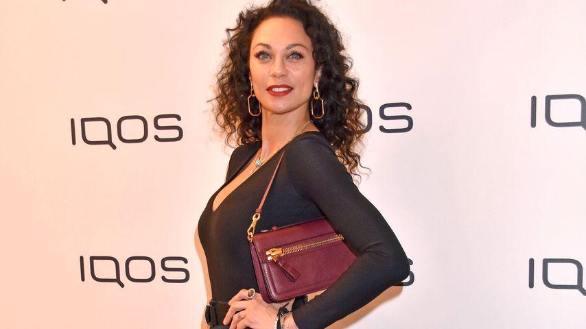 Lilly Becker bei der IQOS-Ladeneröffnung in Berlin im Mai 2019
