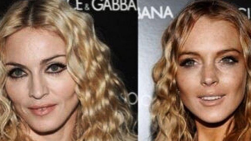 Huch! Lindsay Lohan macht jetzt auf Madonna