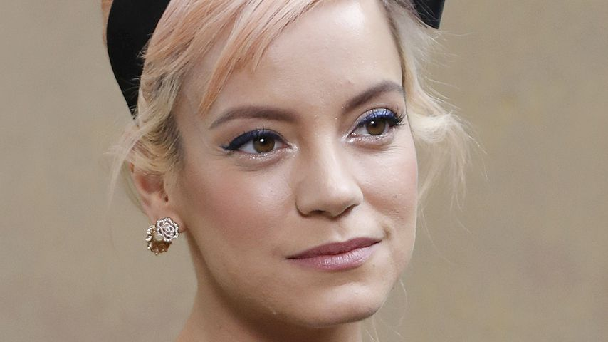 Lily Allen bei der Paris Fashion Week 2018