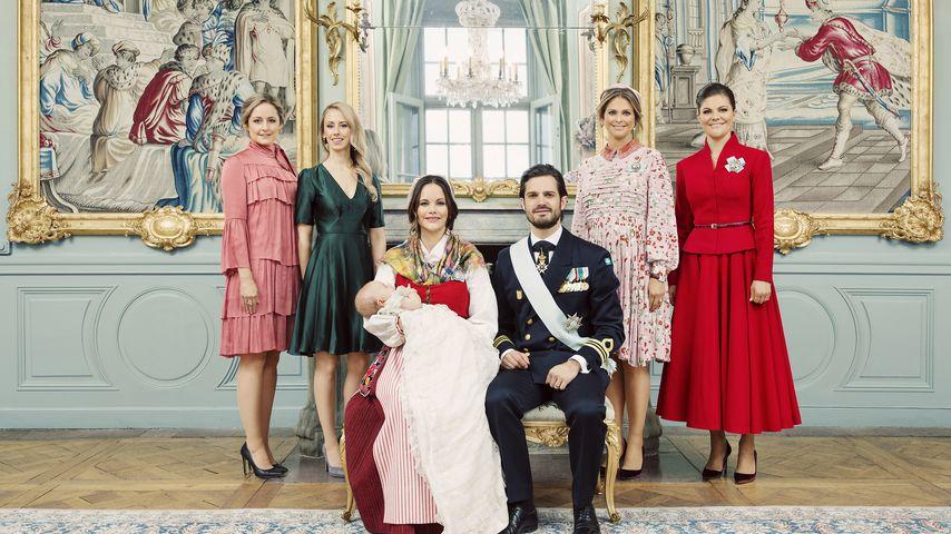 Lina Hellqvist, Sara Hellqvist, Sofia, Gabriel, Carl Philip, Madeleine und Victoria