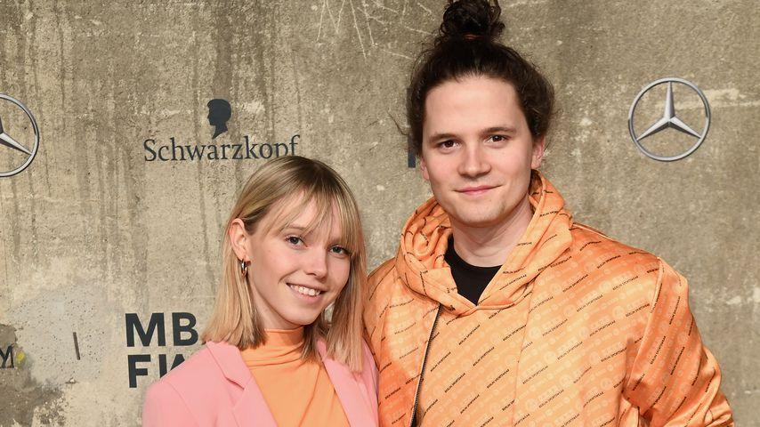 Lina Larissa Strahl und Tilman Pörzgen im Januar 2020