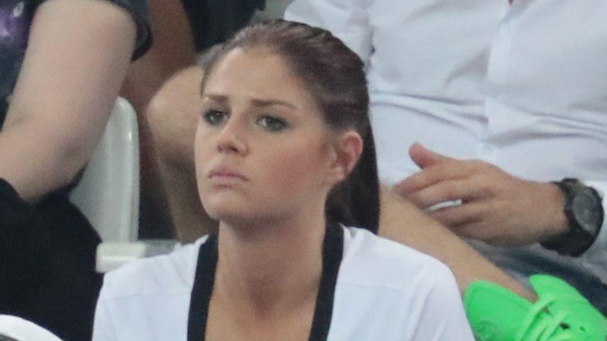 Lina Meyer beim EM-Halbfinale in Marseille