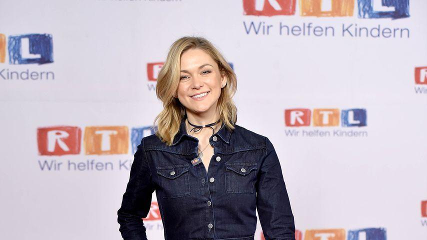 Linda Hesse beim RTL Spendenmarathon 2017