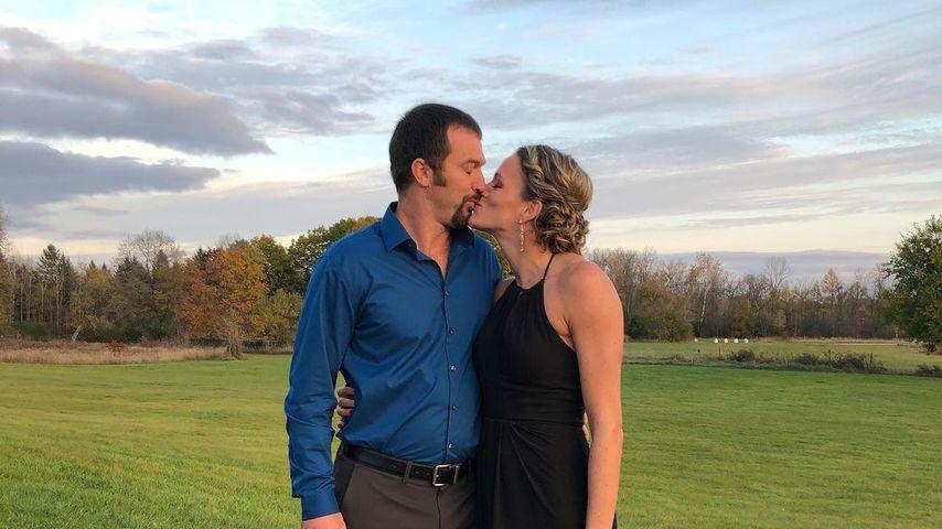 Lindsay Flach mit ihrem Mann
