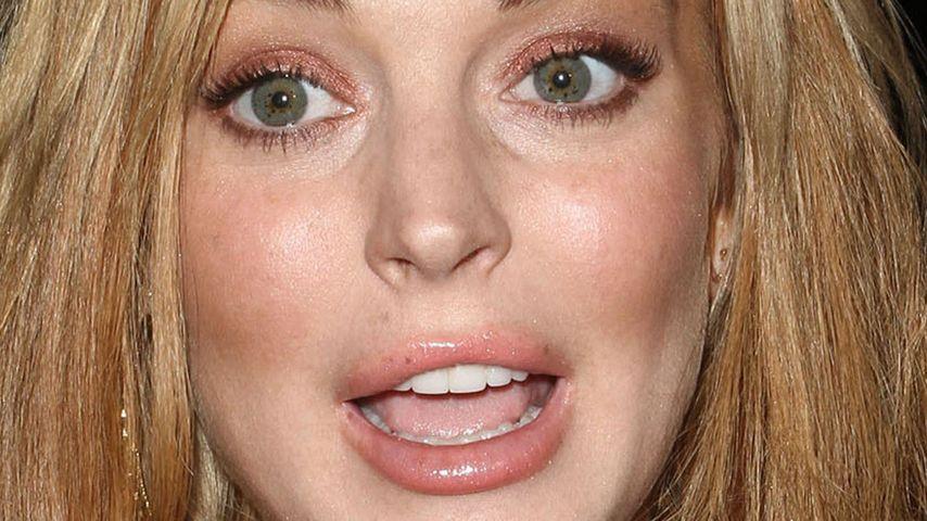 Verkaterte Lindsay Lohan? Verspätet zum Glee-Dreh