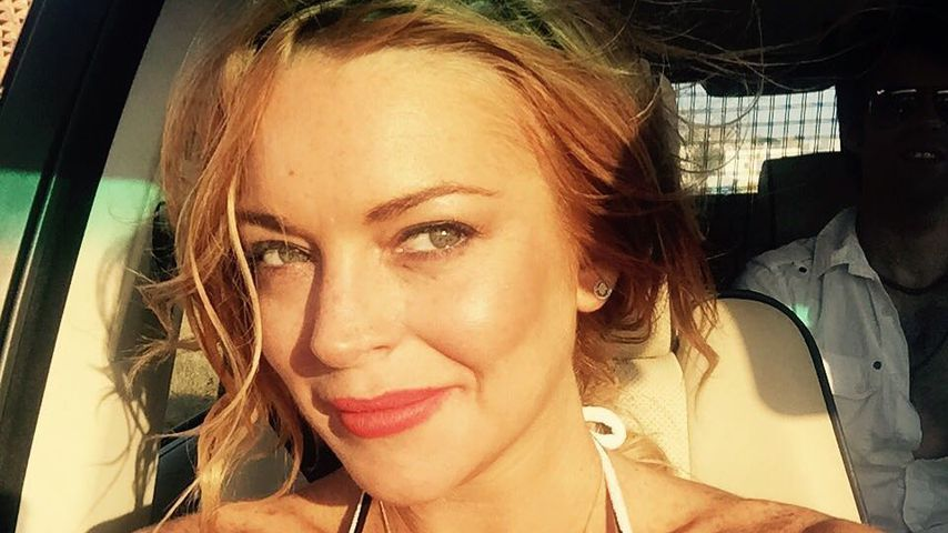 Lindsay Lohan im Februar