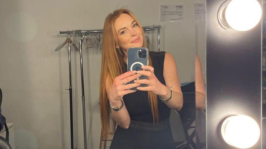 Lindsay Lohan im April 2021
