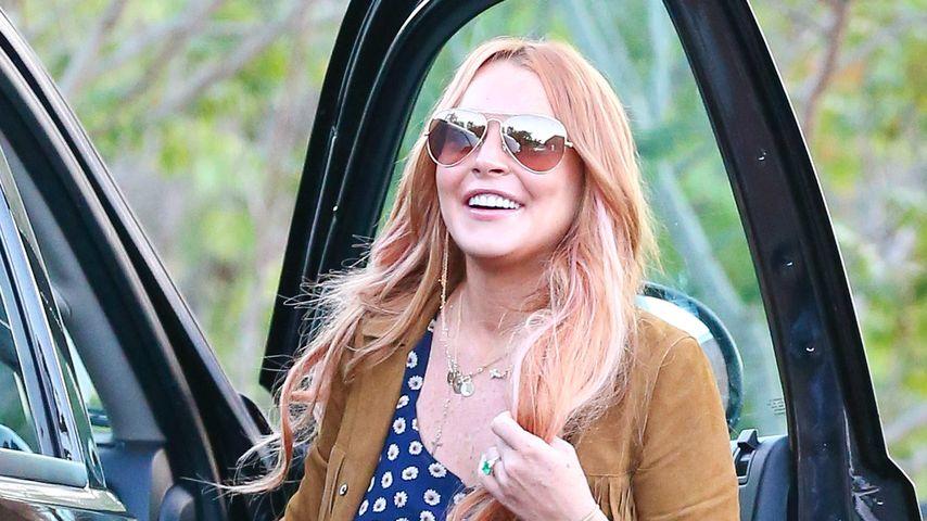 Lindsay Lohan: So glücklich strahlt sie nach Rehab
