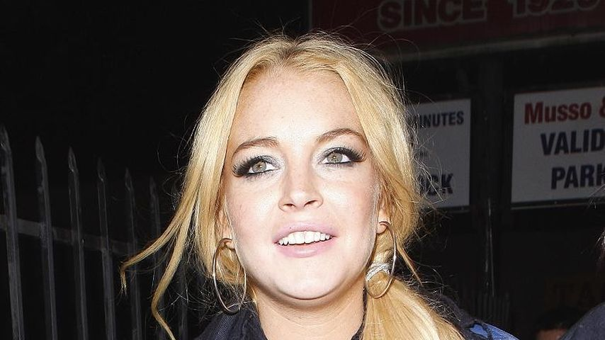 Lindsay Lohan macht Werbung via Twitter