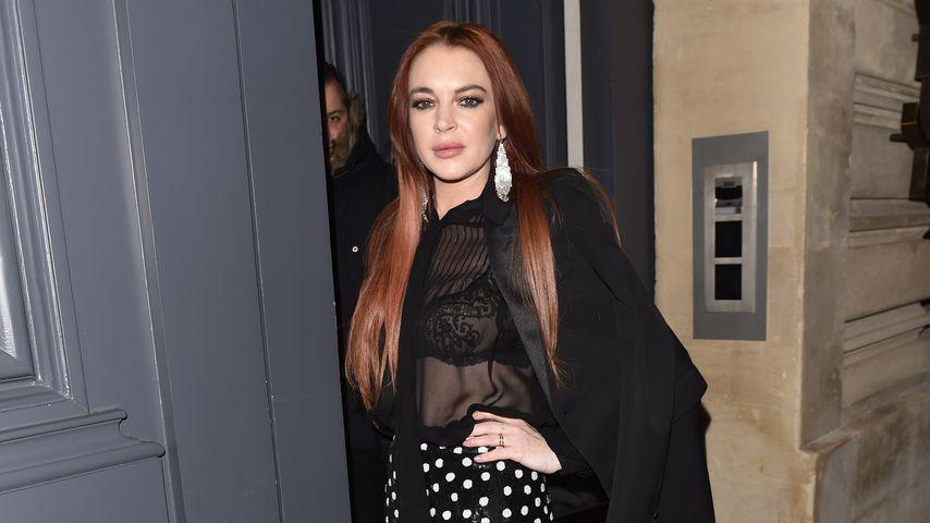 Lindsay Lohan in Paris, 2019