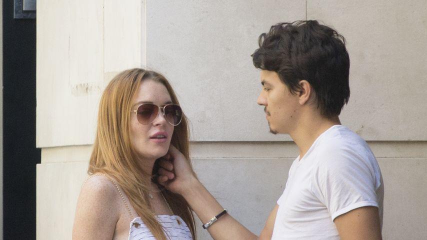 Süßer Liebes-Urlaub: Lindsay Lohan & Egor turteln in Madrid