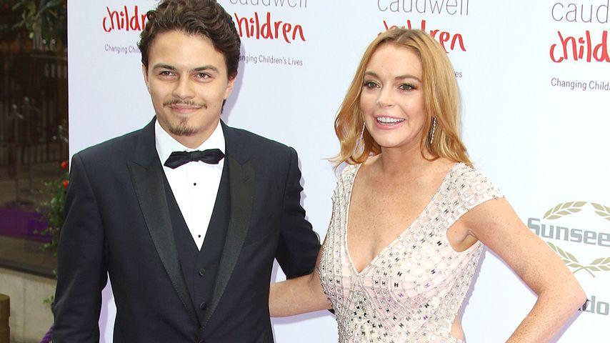 Egor Tarabasov und Lindsay Lohan beim Caudwell Children Butterfly Ball
