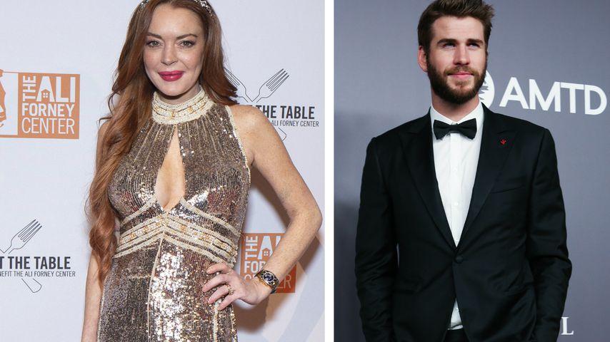 Das steckt hinter Lindsay Lohans Flirt mit Liam Hemsworth