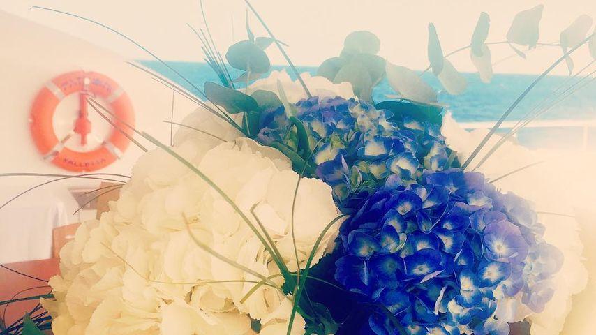 Lindsay Lohans Blumenstrauß