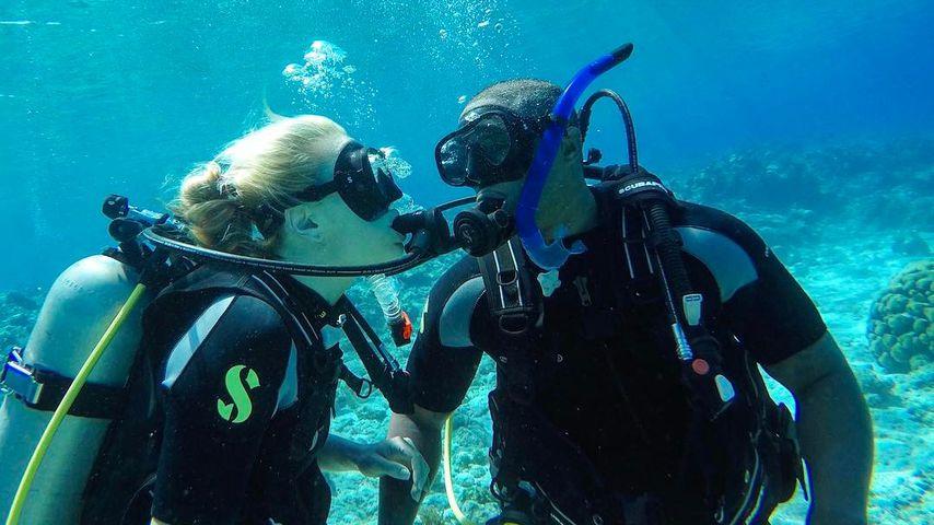 Lindsey Vonn und Kenan Smith auf den Turks- und Caicosinseln