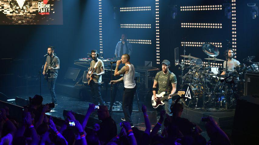 Linkin Park bei der iHeartRadio-Party 2014