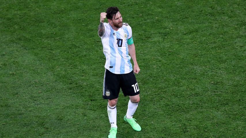 Lionel Messi nach dem WM-Spiel gegen Nigeria