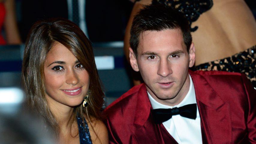 Feiern unter Polizeischutz: Fußballer Lionel Messi heiratet!