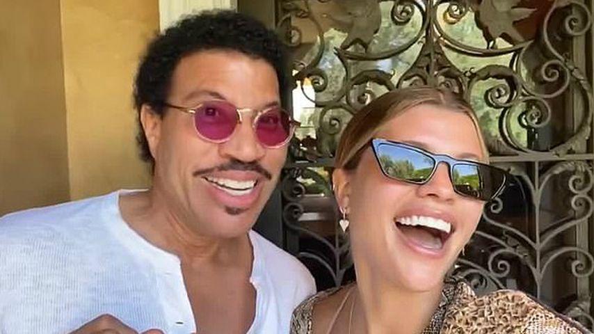 Lionel Richie und seine Tochter Sofia Richie im Juni 2020