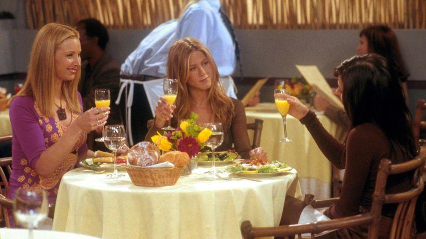 """Lisa Kudrow, Jennifer Aniston und Courteney Cox in der Serie """"Friends"""""""