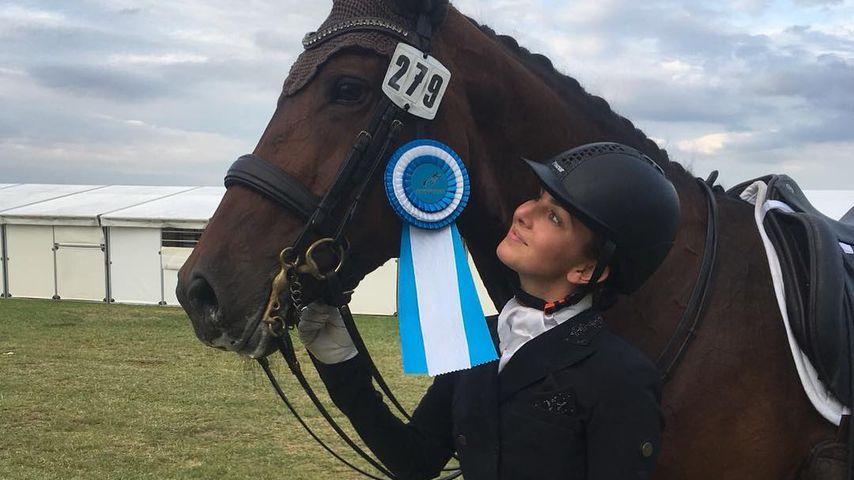 Lisa Müller mit ihrem Pferd