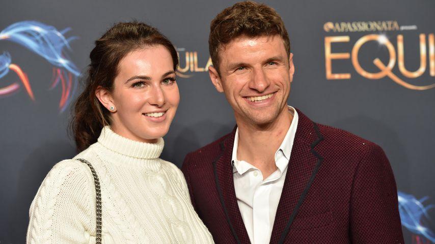 """Lisa Müller und Thomas Müller auf der """"Equila""""-Premiere in München"""